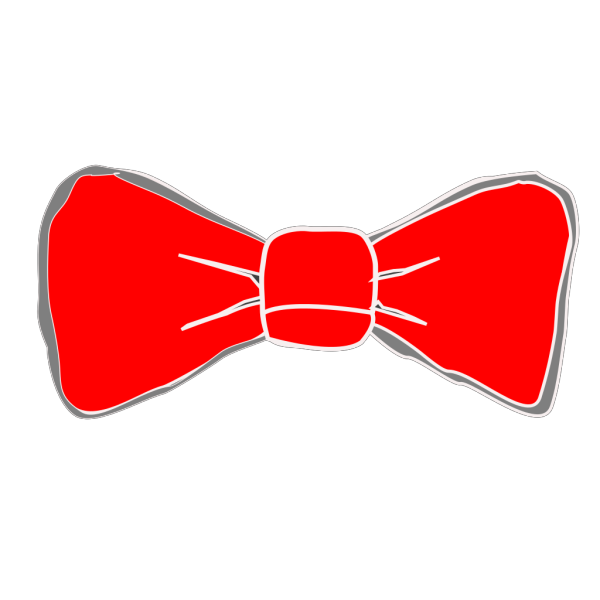 Goose With Red Bow On Neck PNG Clip art