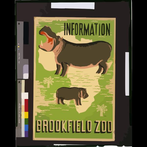 Hippopotamus 2 PNG Clip art