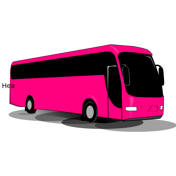 Travel Bus clipart
