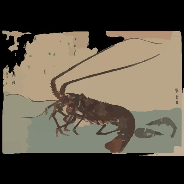 Shrimp And Lobster. PNG images