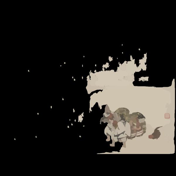 Cockfight PNG Clip art