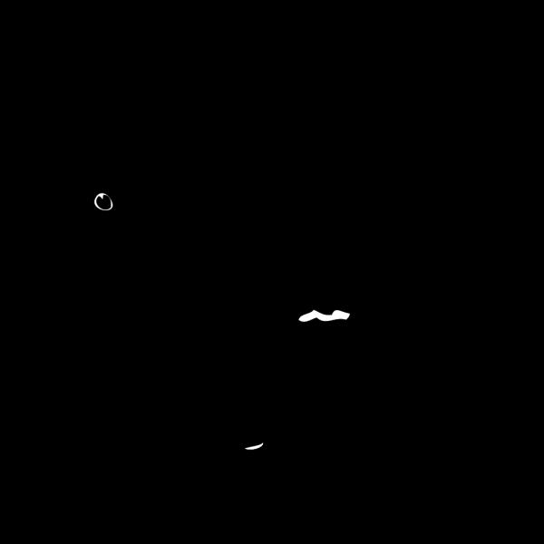Black Crow Silhouette PNG Clip art