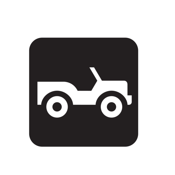 Four Wheel Drive Road Black PNG images