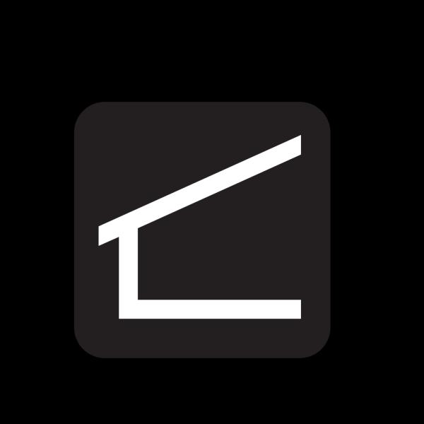 Shelter Black PNG Clip art
