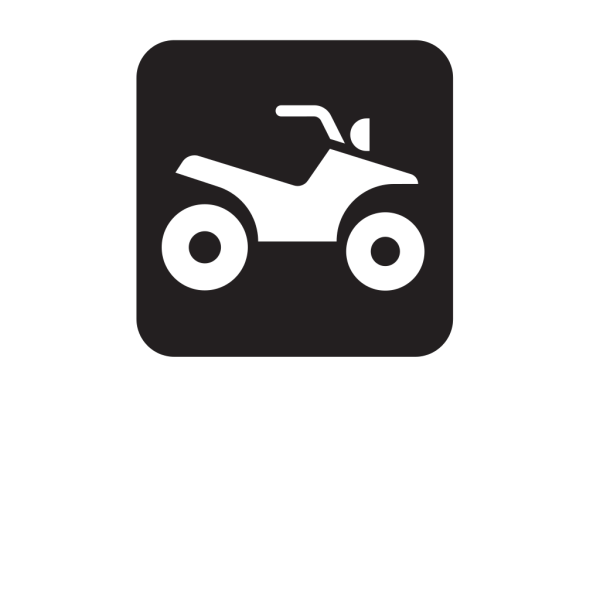 All Terrain Trail Black PNG Clip art