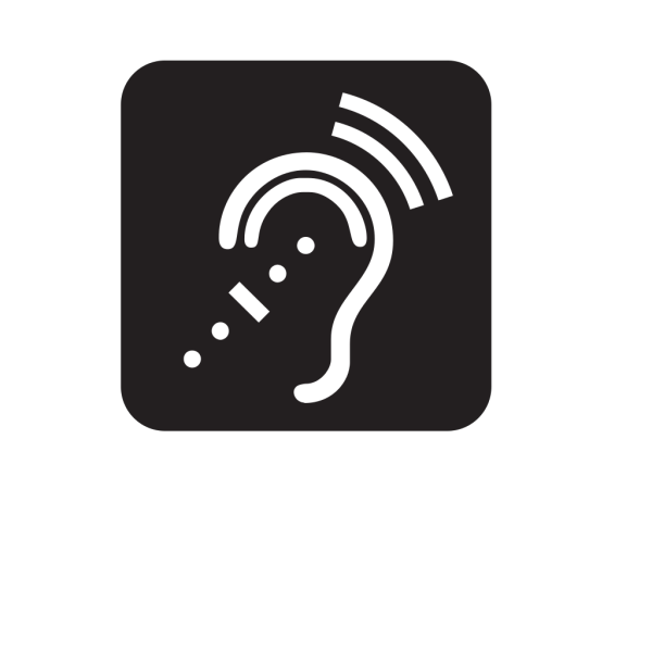 Assisstive Listening Systems Black PNG Clip art