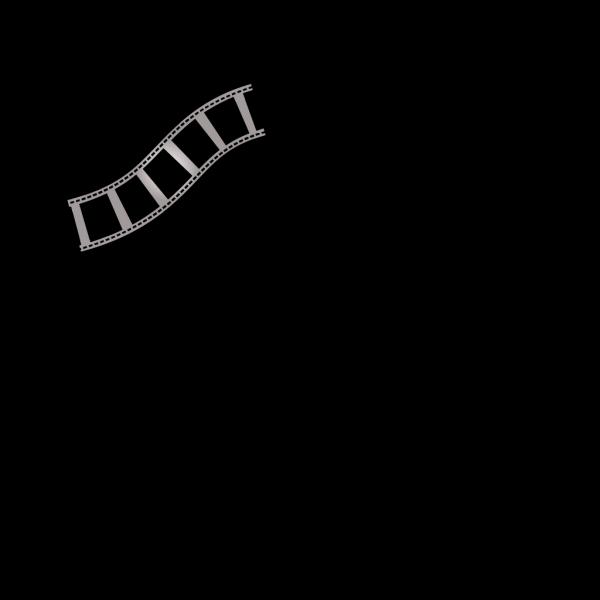 Blue Film Strip PNG images