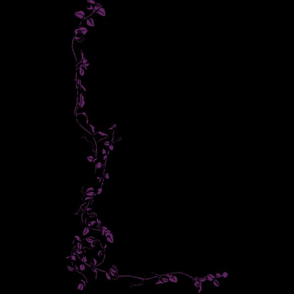 Leafless Vine Frame PNG Clip art