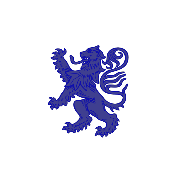 Blue Lion PNG icons