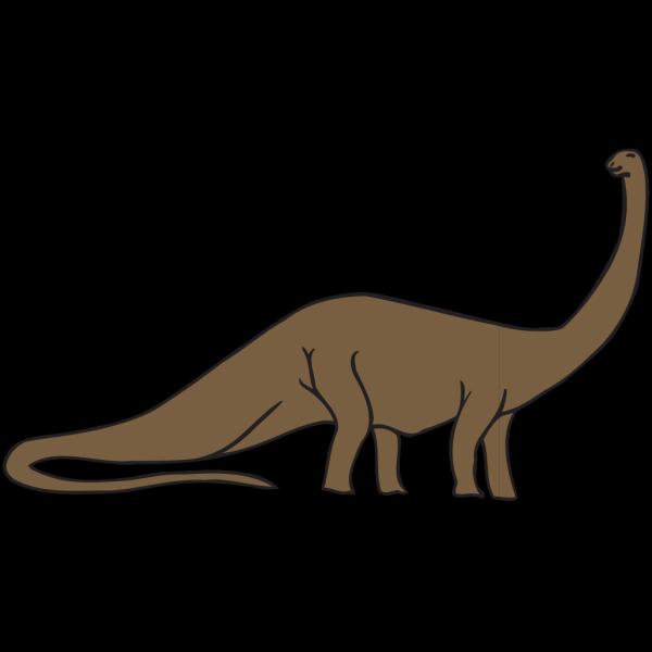 Brown Brachiosaurus PNG images