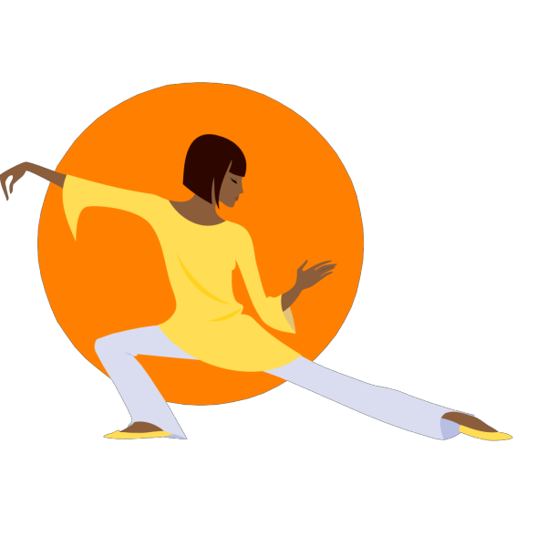 Yoga Position PNG icon