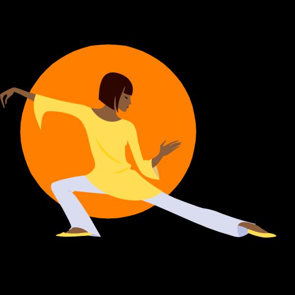Yoga Position PNG Clip art