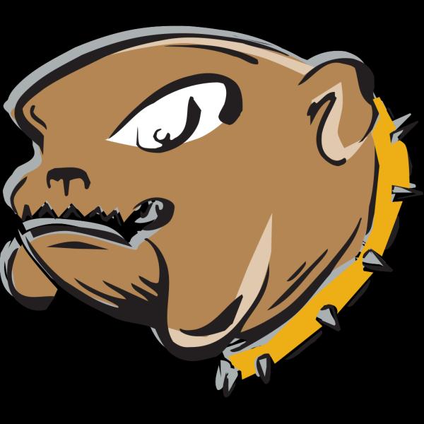 Angry Bulldog Art PNG Clip art