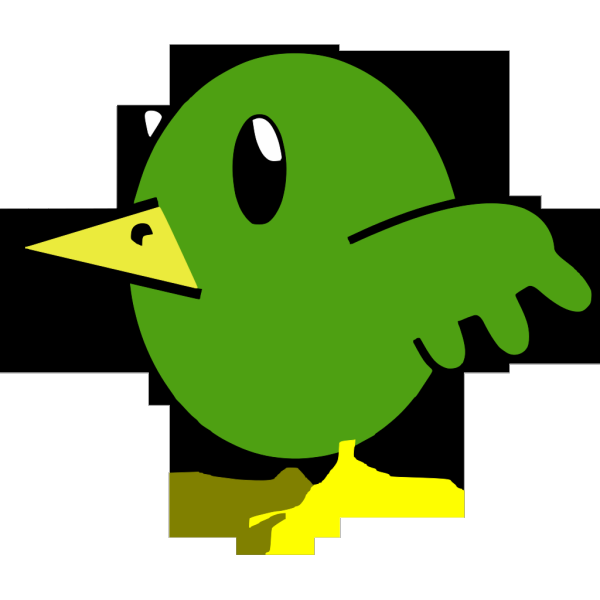 Bird Cartoon Hi PNG icon