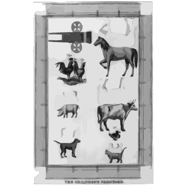 The Childrens Farmyard PNG Clip art