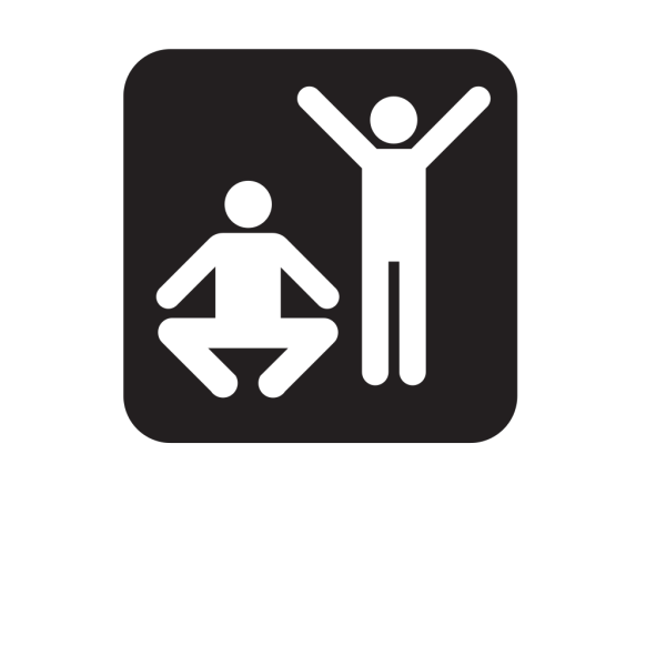 Exercise Fitness Black PNG images