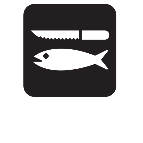 Fish Cleaning Black PNG images