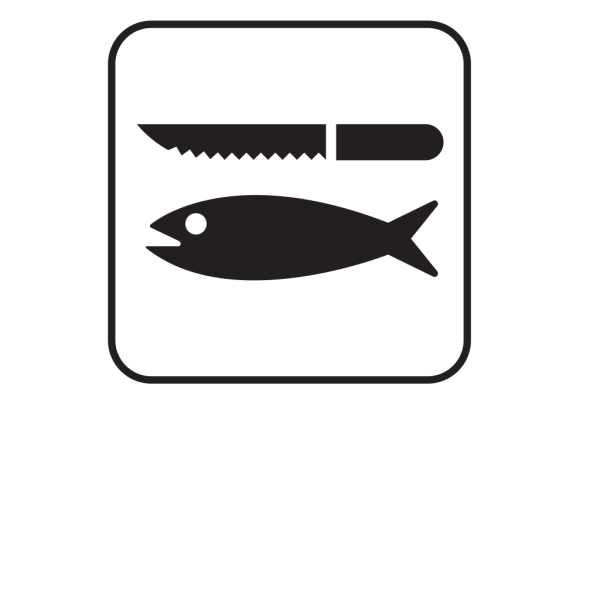 Fish Cleaning White PNG images