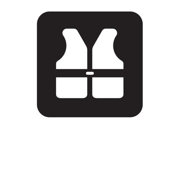 Life Jackets Black PNG icons