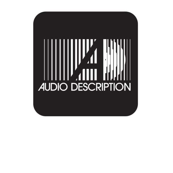 Live Audio Description Black PNG Clip art