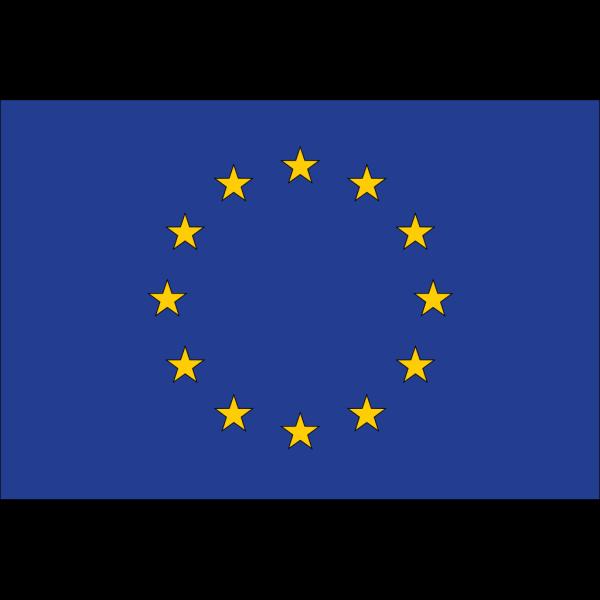 Flag Of Eu PNG Clip art