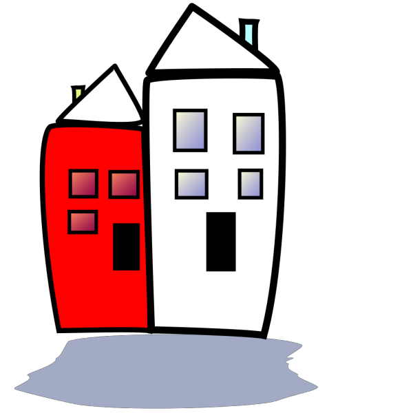 Homes Clipart 5 PNG icons
