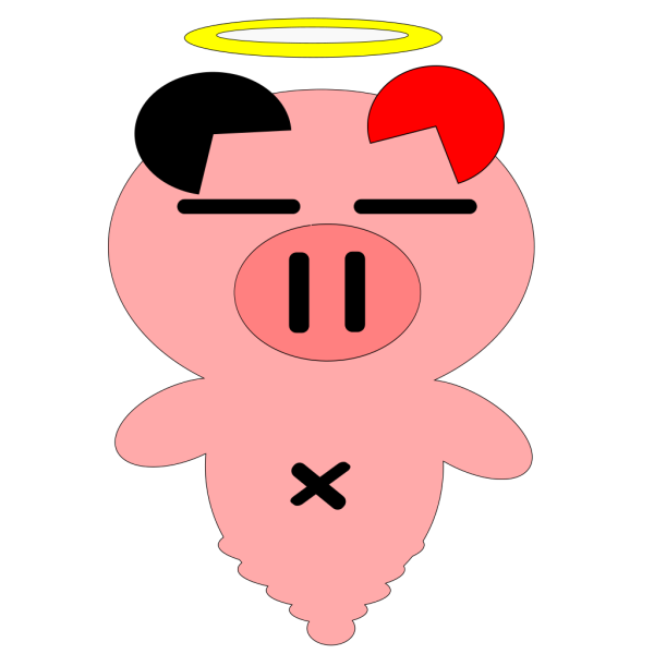 Pig 7 PNG Clip art