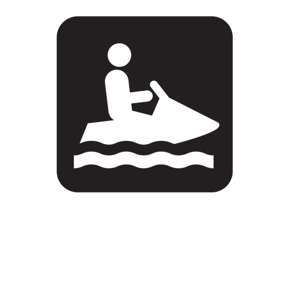 Personal Water Craft Watercraft Black PNG Clip art