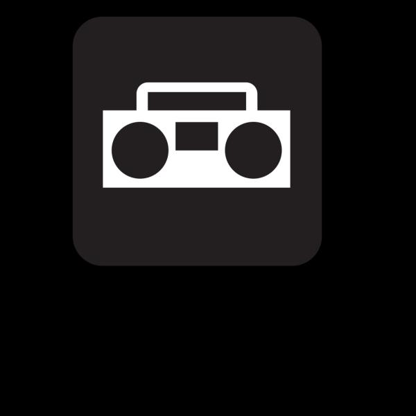 Radios Black PNG Clip art