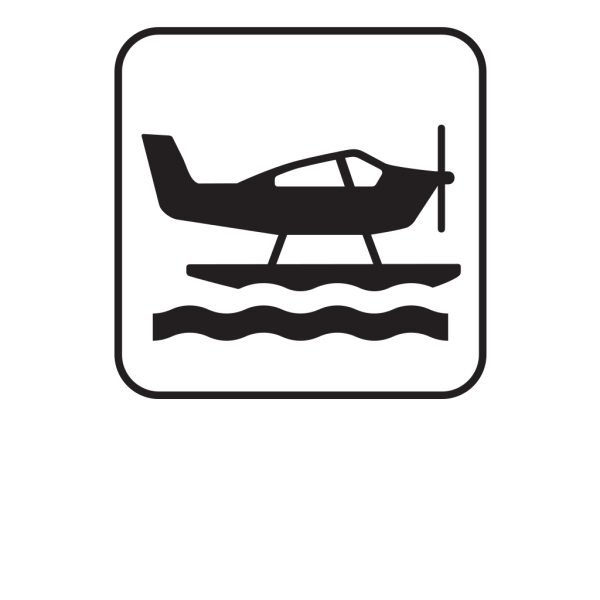 Sea Plane White