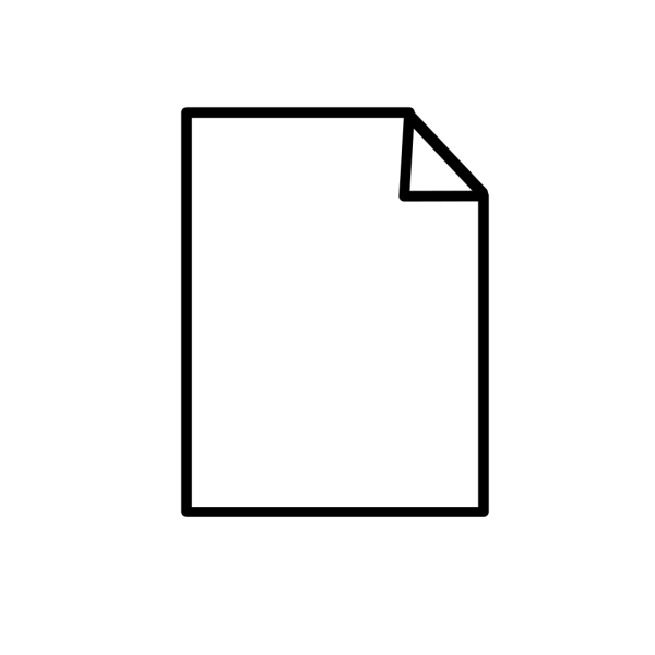 Paperback Book, Black PNG icon