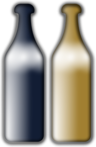 Wine Bottles PNG Clip art