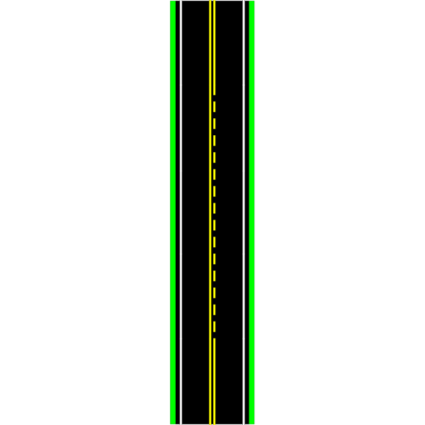 Road With Passing Zone & Cars PNG images