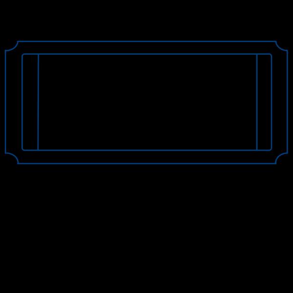 Blueticket2 PNG Clip art