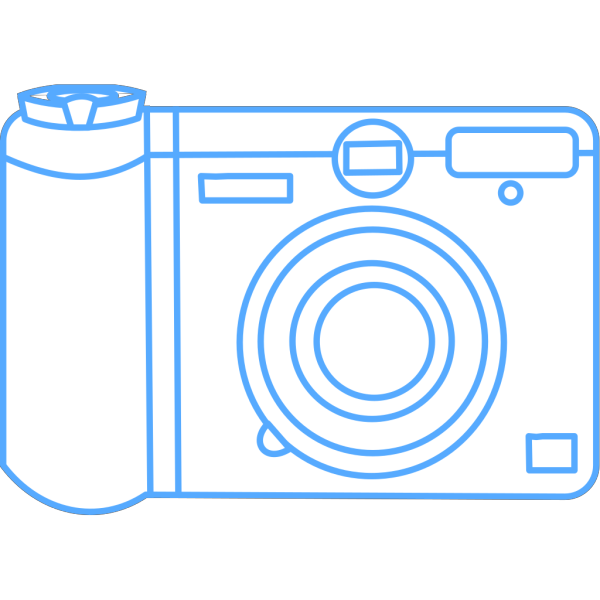 Green Camera Art PNG images