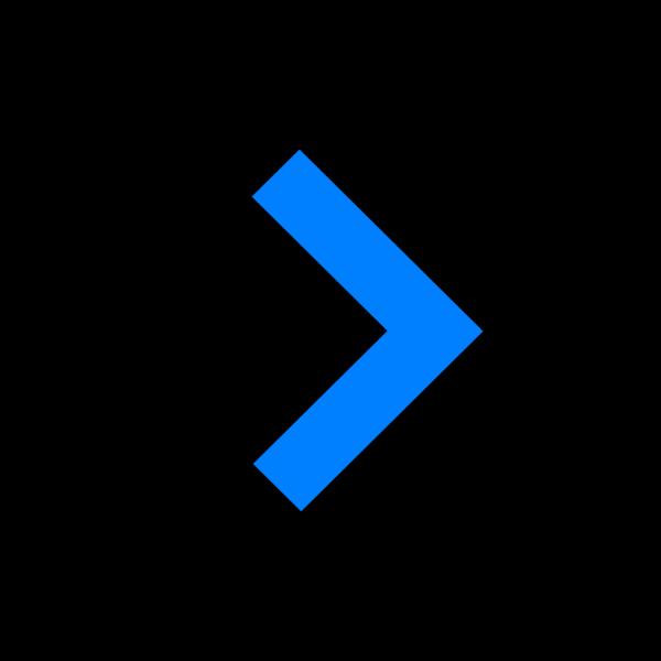 Arrow Blue Down 03 PNG Clip art