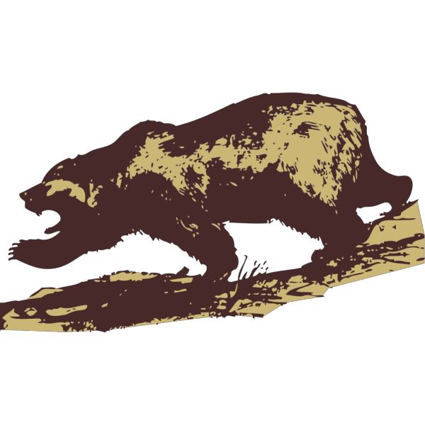 Attacking Bear PNG Clip art