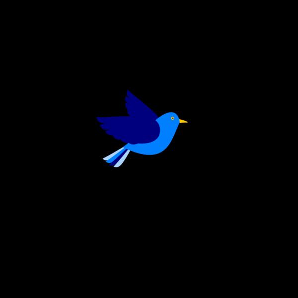 Blue Bird Right PNG Clip art