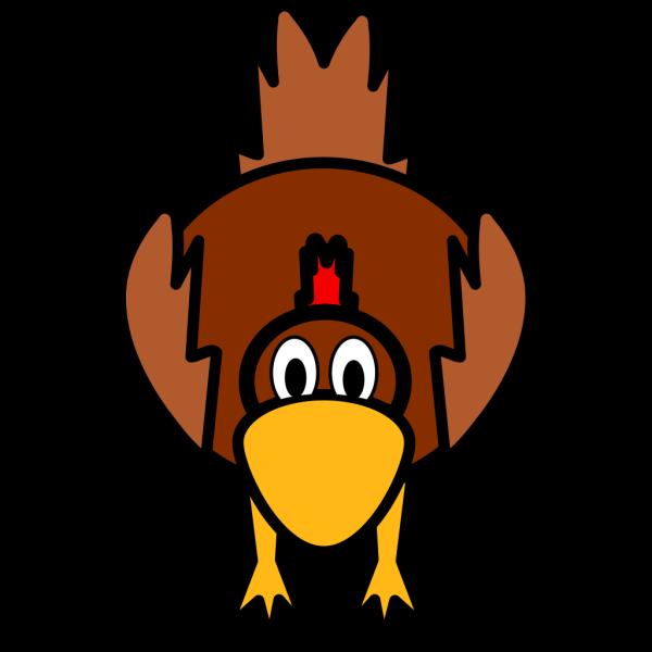 Simple Cartoon Chicken PNG Clip art