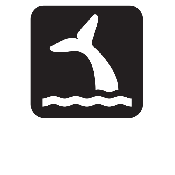 Whale Viewing Black PNG Clip art