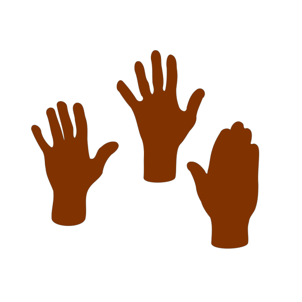 Three Hands PNG Clip art