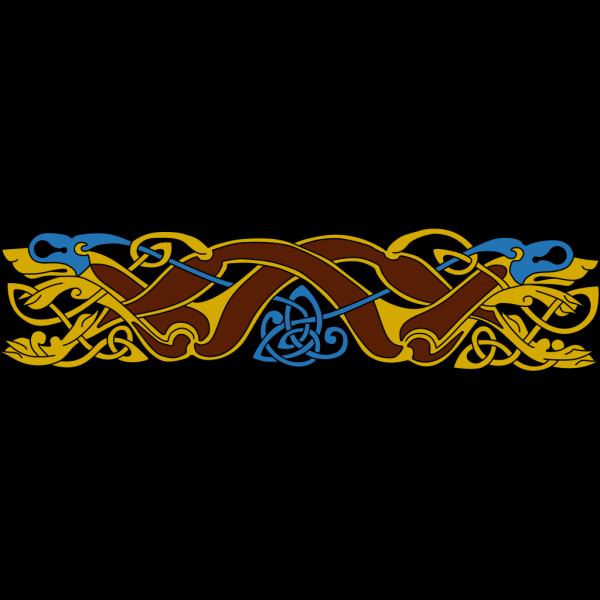 Celtic Border Design PNG Clip art