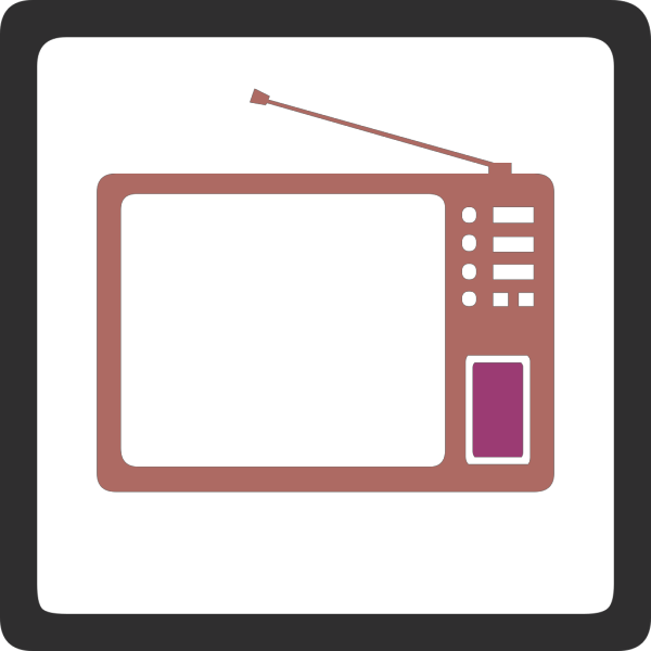 Tv Set PNG Clip art