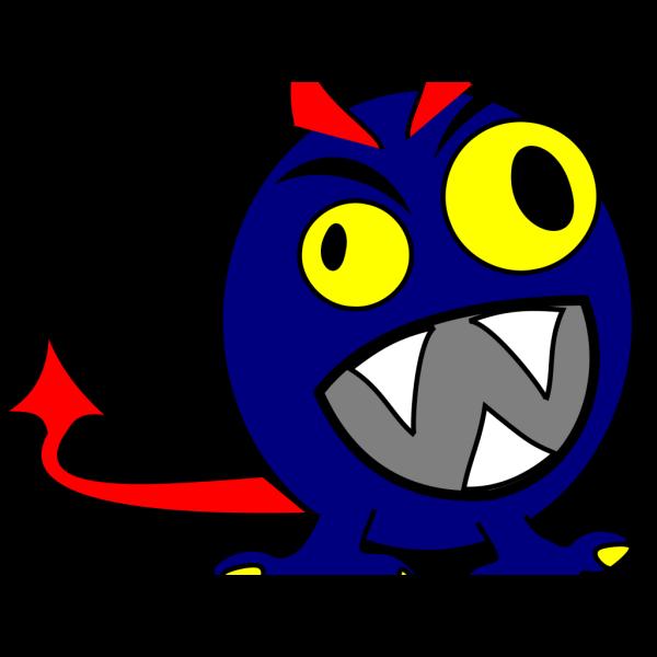 Blue Mon PNG Clip art
