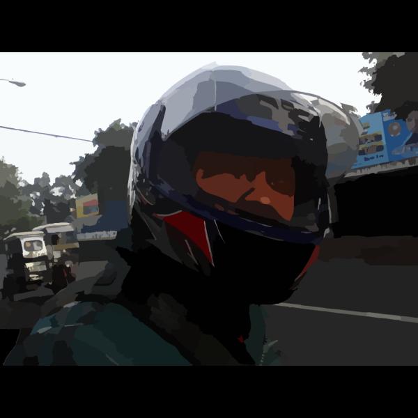 Jesus Art Head In Helmet PNG images