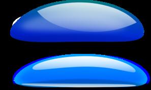 Blue Color Splotches PNG Clip art