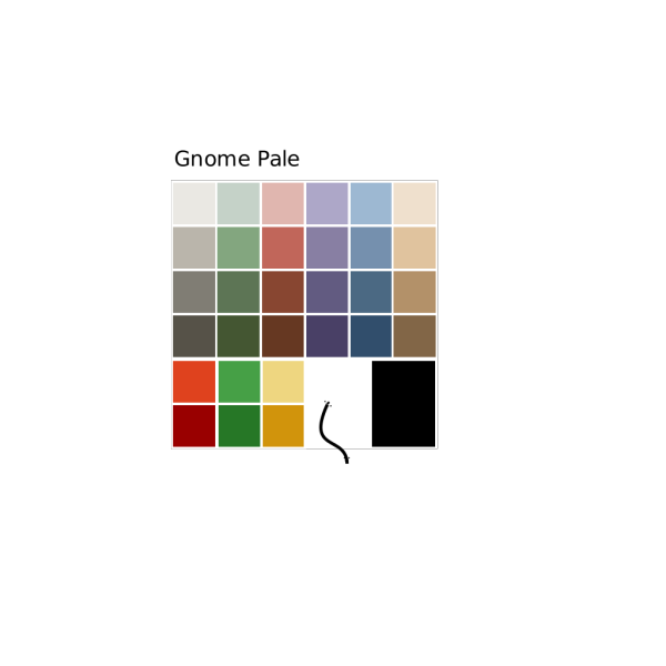 8 Color Palette