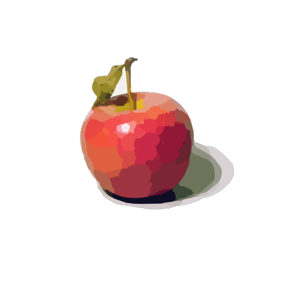 Apple Red Cartoon PNG icon