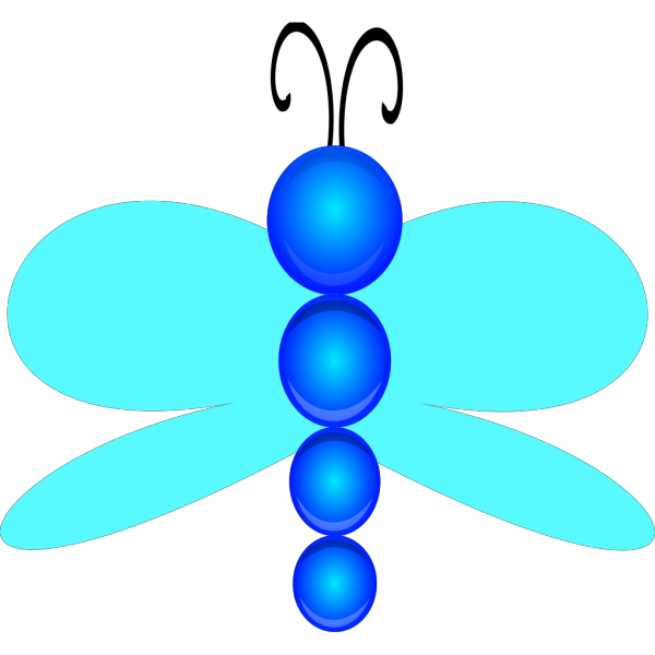 Digital Dragonfly Art PNG images