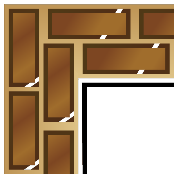 Rpg Map Brick Border 1 PNG icons